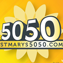Logo for the St. Marys Healthcare Foundation 50-50