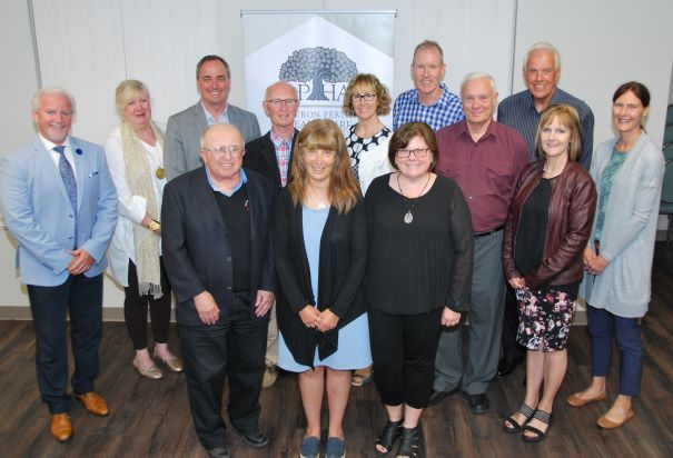 Group photo of the HPHA Board of Directors
